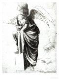 Study of an Angel Giclée-Druck von  Leonardo da Vinci