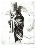 Study of an Angel Giclee Print by Leonardo da Vinci 
