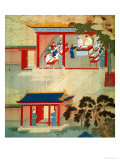 Civil Service Exam Under Emperor Jen Tsung from a History of Chinese Emperors Giclee Print