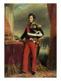 Louis-Philippe I, King of France Giclee Print by Franz Xavier Winterhalter