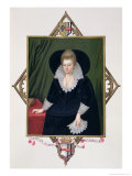 Portrait of Frances Walsingham Giclee Print by Sarah Countess Of Essex