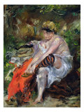 After the Swim, 1906 Giclee Print by Lovis Corinth