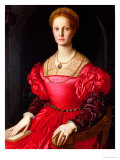 Lucrezia Panchiatichi, circa 1540 Giclee Print by Agnolo Bronzino