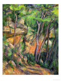 In the Park of Chateau Noir, circa 1896-99 Giclee Print by Paul Cézanne