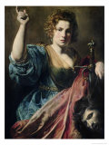 Judith Giclee Print by  Valentin de Boulogne