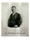 Portrait of Colonel Theodore Roosevelt Giclee Print