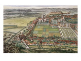 The Prospect of Nottingham from the East Giclee Print by Leonard Knyff