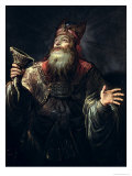 The Prophet Samuel Giclee Print by Claude Vignon