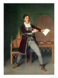 "Charles Farley as Francisco in ""A Tale of Mystery"" by Thomas Holcroft Giclee Print by Samuel de Wilde"