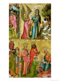 The Annunciation to St. Joachim and the Adoration of the Magi Giclee Print by Master Bertram of Minden