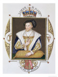 """Portrait of James V King of Scotland from """"Memoirs of the Court of Queen Elizabeth"""" Giclee Print by Sarah Countess Of Essex"""