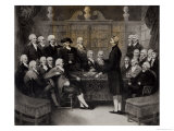 Portrait of President, Fellows, and Corresponding Members of the Medical Society of London 1801 Giclee Print by Samuel Medley