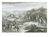 The Battle of Edgehill, 23rd October 1642 Giclee Print by Michael van der Gucht