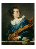 Figure of Fantasy: Portrait of the Abbot of Saint-Non 1769 Giclee Print by Jean-Honoré Fragonard