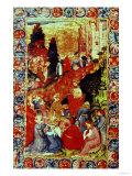 Chaucer Reading His Poems to the Court of Richard II of England Giclee Print