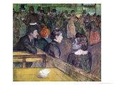 At the Moulin de La Galette, 1899 Lámina giclée por Henri de Toulouse-Lautrec