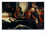 Last Respects to the Remains of Counts Egmont and Hoorn, 1863 Giclee Print by Louis Gallait