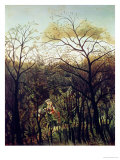 Rendez-Vous in the Forest, 1886 Giclee Print by Henri Rousseau