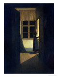 The Woman with the Candlestick, 1825 Giclee Print by Caspar David Friedrich