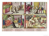 The Assassination of Henri III and the Execution of His Killer, Jacques Clement 1589-92 Giclee Print by Franz Hogenberg