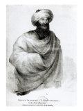 Portrait of Sheikh Ibrahim, or Johann Ludwig Burckhardt 1817 Giclee Print by Henry Salt