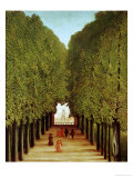 Alleyway in the Park of Saint-Cloud, 1908 Giclee Print by Henri Rousseau