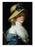 Portrait of Frau Senator Elisabeth Hudtwalcker, Nee Moller, 1798 Giclee Print by Jean Laurent Mosnier