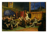 Evening in the Studio with My Students, 1886 Giclee Print by Hubert von Herkomer