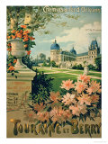 Advertisement for &quot;Touraine et Berry&quot;, by Orleans Railway Giclee Print by Hugo D&#39;Alesi