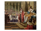 Louis XII Declared Father of the People 1789 Giclee Print by Jean Claude Naigeon