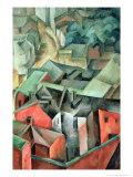Landscape, 1917 Giclee Print by Aleksandr Aleksandrovich Osmerkin