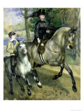 Horsewoman in the Bois de Boulogne, 1873 Giclee Print by Pierre-Auguste Renoir