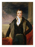 Portrait of Sir Humphry Davy Giclee Print by John Linnell