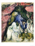 The Strangled Woman, circa 1870-72 Giclee Print by Paul Cézanne
