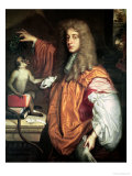 John Wilmot 2nd Earl of Rochester, circa 1675 Giclee Print by Jacob Huysmans