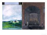 Landscape and Street Scene Giclee Print by Joachim Ringelnatz