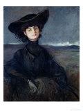 Anna de Noailles Giclee Print by Jean Louis Forain