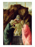 The Entombment Giclee Print by Filippo Lippi