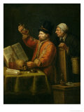 The Urine Examination Giclee Print by Joos Van Craesbeeck