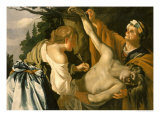 The Nursing of Saint Sebastian, 1622 Giclee Print by Theodore van Baburen