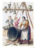 Venetian Bellmaker&#39;s Shop Reproduction proc&#233;d&#233; gicl&#233;e par Jan van Grevenbroeck