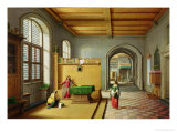 Christ in the House of Martha and Mary Giclee Print by Hendrik Van Steenwyk