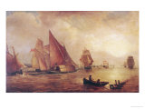 Estuary of the Thames and the Medway Giclee Print by William Turner