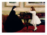 At the Piano, 1858-59 Giclee Print by James Abbott McNeill Whistler