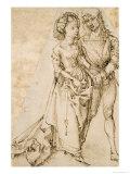 Amoureux Reproduction procédé giclée par Albrecht Dürer