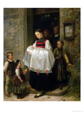 The Return from the Christening Premium Giclee Print by Hubert Salentin