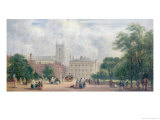 Fitzroy Square, London Giclee Print by George James Rowe