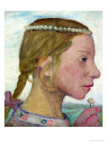 A Young Girl Giclee Print by Paula Modersohn-Becker