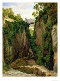 Rocky Ravine at Sorrento, 1823 Giclee Print by Heinrich Reinhold