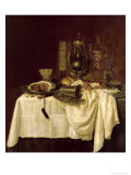 Still Life, 1638 Giclee Print by Willem Claesz. Heda